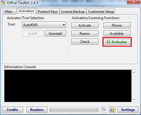 Windows 8/Office 2013激活工具Microsoft Toolkit 2.4.3