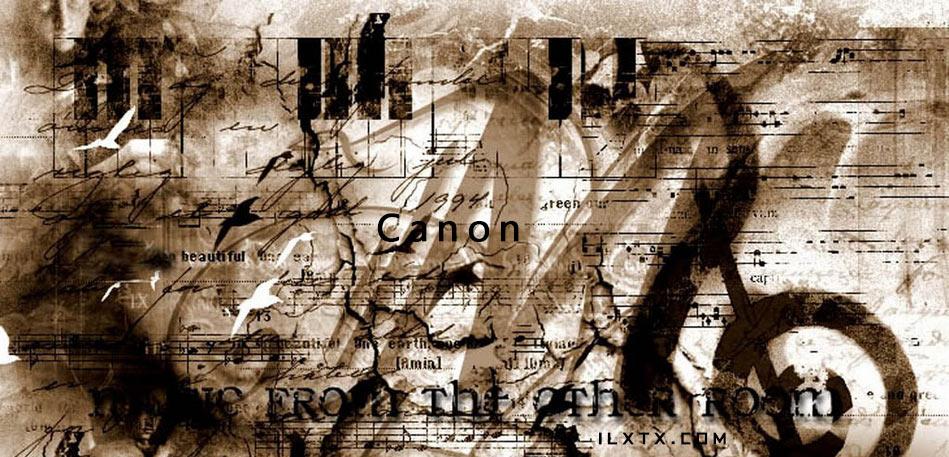 纯音乐:Canon 卡农钢琴版、小提琴版、摇滚版和古筝版 其他