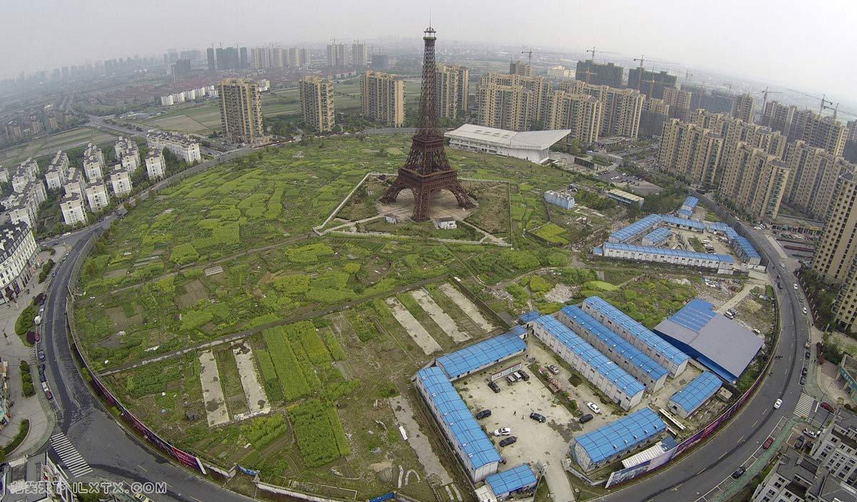 浙江天都城,艾菲尔铁塔的复制品 - 20150408