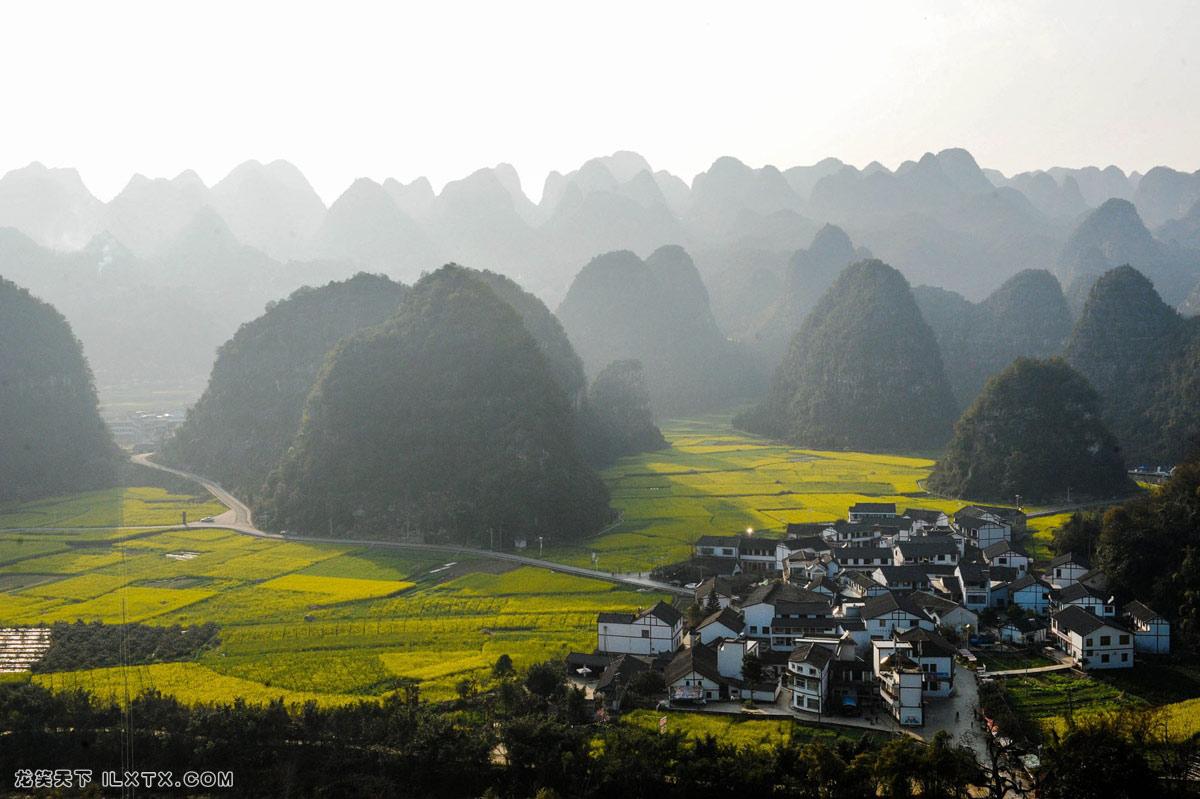 贵州兴义的万峰林 - 20140221