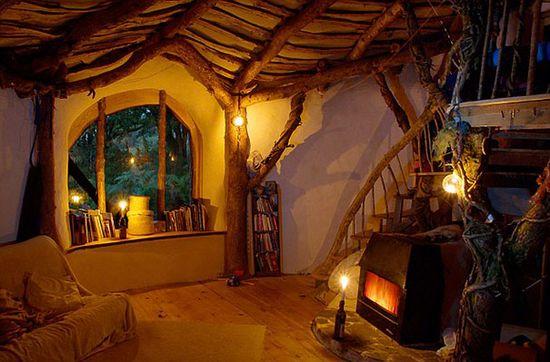 世外桃源,14 座充满魔幻色彩的森林小屋